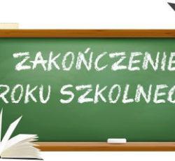 Zakończenie roku szkolnego 2019/20